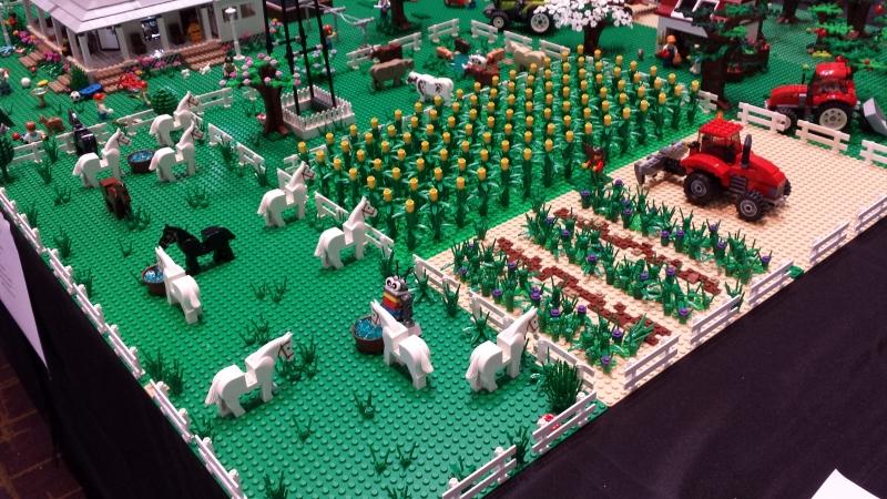 11-Farm-Horses And Crops